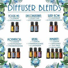 Diffuser blends