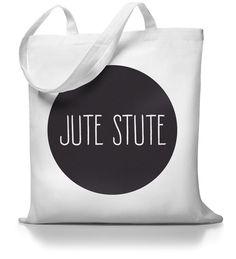 "Jutestute ""Jute Stute"" // totebag by Kane Grey via DaWanda.com"
