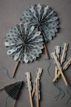 Would be cute for the warm day. This is from Anthropologie's wedding site. Maybe you'll find some inspiration.