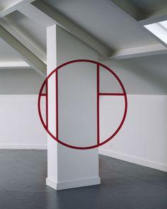 felice varini: anamorphic illusion | minimal exposition