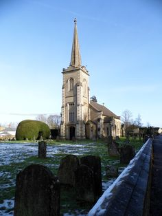 Christ Church, Derry Hill, near Chippenham, Wiltshire...Grandparents buried in the churchyard here.