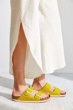 Birkenstock Arizona Sport Soft Footbed Slide Sandal - Urban Outfitters