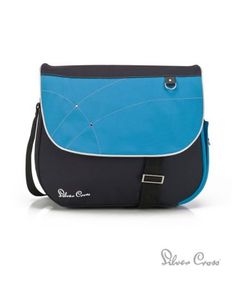 I'm shopping Silver Cross Changing Bag - Sky Blue in the Mothercare iPhone app.