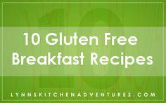 10 GF Breakfast Recipes