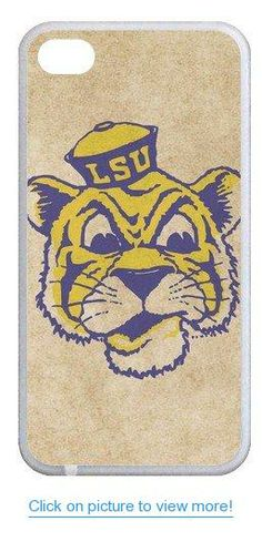 Accurate Store NCAA Division I LSU Tigers and Lady Tigers logo Iphone 4,4S TPU Case Cover #Accurate #Store #NCAA #Division #LSU #Tigers #Lady #logo #Iphone #4_4S #TPU #Case #Cover