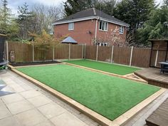 Outstanding artificial grass craft - take a look at our articles for even more tips! Sleepers In Garden, Fake Grass, Artificial Turf, Landscape, Outdoor Decor, Articles, House, Country, Craft