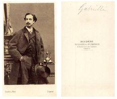 Disderi, Gabrielli    #CDV #portraits #Hommes_