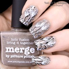 Nail Art by Belegwen: Picture Polish Merge