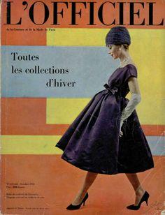 Cover, L'Officiel October 1958