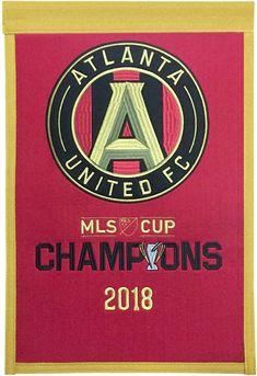 Wincraft Atlanta United FC MLS Cup 2018 Champions Flag