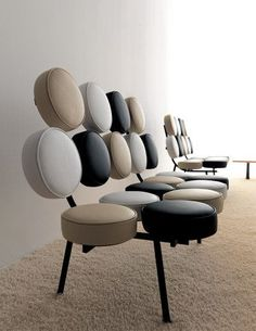 George Nelson - Marshmallow Sofa, 1956: 1000 Chairs, Georgenelson, Stuff, Marshmallows Sofas, Chairs Stools Sofas, Design History, Industrial Design, Nelson Marshmallows, Of Interiors