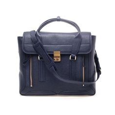 3.1 PHILLIP LIM 'Pashli' Leather Satchel Bag ($1,270) ❤ liked on Polyvore