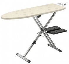 Rowenta Pro Compact Professional Space Saving Folding Ironing Board with Hanger Racks and Cotton Cover, by Beige >>> Learn more by visiting the image link. Ironing Board Covers, Ironing Boards, Iron Steamer, Padded Hangers, Iron Board, Hanger Rack, Laundry In Bathroom, Laundry Rooms, Desktop