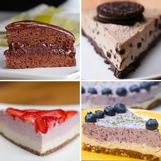 Vegan Cake 4 Ways by Tasty