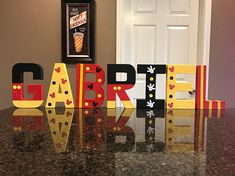 Mickey Mouse Custom Name Letters price is per letter Mickey Mouse Letters, Mickey Mouse Room, Mickey Mouse Birthday Decorations, Mickey 1st Birthdays, Fiesta Mickey Mouse, 2nd Birthday Party Themes, Mickey Mouse Clubhouse Birthday, Mickey Birthday, Mickey Party