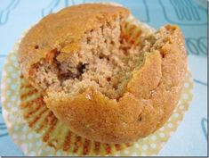 Paleo Zucchini Almond Butter Muffins Really great recipe. I added ginger and nutmeg, too. No wheat and very satisfying.