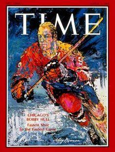 1968 Bobby Hull Blackhawks Time Magazine em for Like the 1968 Bobby Hull Blackhawks Time Magazine em? Time Magazine, Magazine Covers, Bobby Hull, Leroy Neiman, News Magazines, Real Life, Blackhawks Hockey, Chicago Blackhawks, Caricatures