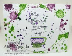 Lil Cutie Creations: Two Paper Divas~ A Cuppa Kindness