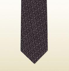 Gucci Patterned Cotton Knit Tie on shopstyle.com