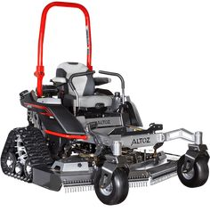 The Altoz TRX zero-turn mower with rear-mounted track system conquers the terrain and never compromises the quality of the cut. Bobcat Equipment, John Deere Equipment, Big Tractors, Case Tractors, Walk Behind Tractor, Zero Turn Lawn Mowers, Lawn Care Business, Riding Lawn Mowers, Lawn