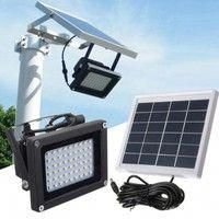 Bizlander 108LED Solar Powered Flood Light for Commercial Grade SolarFlood Light