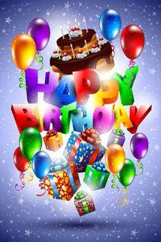 Ballonnen, slingers en lekker eten Vandaag is de dag dat alles mag Laat je maar flink verwennen Want vandaag is jouw verjaardag!