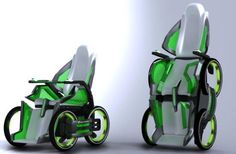 Segway-based DEKA iBot wheelchair. - This is kind of amazing!