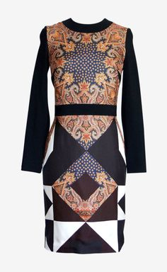 Givenchy scarf print maxi dress