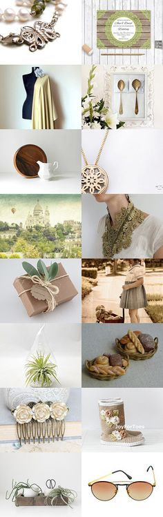 Neutral and Natural by Sophie R on Etsy--Pinned with TreasuryPin.com