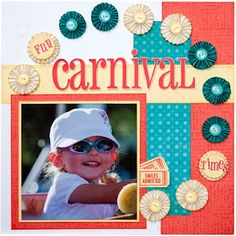 """Carnival"" layout from #CTMH."