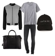 """""""Untitled #179"""" by grisseldaramirez on Polyvore featuring 7 For All Mankind, Versus, Givenchy, TravelSmith, men's fashion and menswear"""