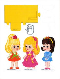Paper Dolls~Playhouse Kiddles - Bonnie Jones - Picasa Web Albums