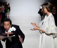 Zang Toi's 25th Anniversary Show, Complete With Cake