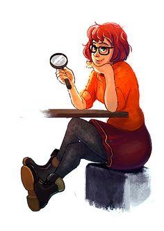 Scooby-Doo's Velma by Jemuel Bernaldez