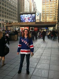 Let's go Rangers! (not as hot as the other girls in this subreddit, but I wanted to show my New York pride)