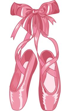 Ballet Slippers Clip Art - Learn to dance at BalletForAdults.com!