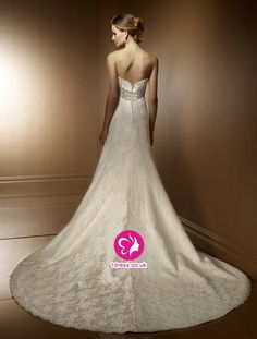 lace wedding dress with chapel train  | 17 lace wedding dress halter bridal gown satin sash http