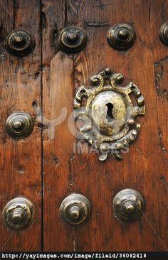 Ecija, Sevilla, Spain; An Old Door