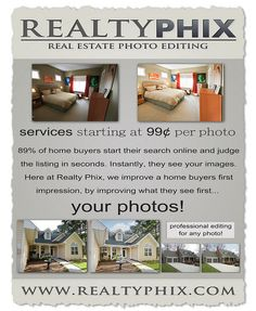 Real estate post processing services and photo editing example.    To see more of my work visit realtyphix.com  or www.facebook.com/RealtyPhix    My Photography