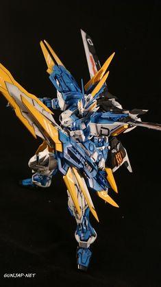 MG 1/100 Gundam Astray Blue Frame D: Modeled by Sirvalek82 [Italy] Photo Review http://www.gunjap.net/site/?p=272149