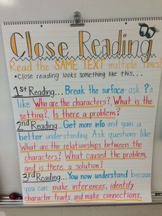 Close Reading- ancho