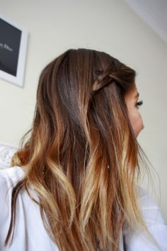 Ombre Braid Hairstyles Ideas 2014