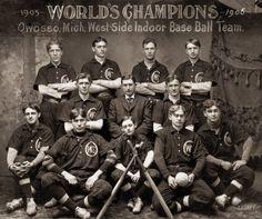 Inside Baseball: 1906   Shorpy   #1 Old Photos