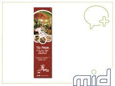 Anúncio veiculado na Revista Veja Comer&Beber, edição 2015/2016, do cliente Restaurante Tio Pepe