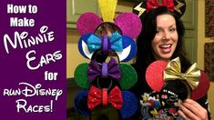 Want to add the perfect touch to your running costume for your next runDisney (or other) race? The Minnie Mouse ears are lightweight, comfortable, and super . Run Disney Costumes, Running Costumes, Mouse Ears, Minnie Mouse, Scary Halloween, Halloween Party, Disney Bound Outfits, Disney Ears, Cute Diys