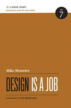 http://www.netmagazine.com/features/top-50-books-web-designers-and-developers#    Design isn't all about visuals, aesthetics, usability and crafting something beautiful. It's also about all the things that surround that, enabling you to build a business. Monteiro's aim in this volume is to help you do that part of your job better, learning how to deal with clients and contracts.    Book on the topics of contracts, selling design and dealing with clients – this is a must read.