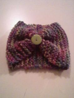 Earwarmers with buttons