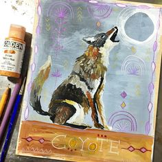 Coyote. The trickster. Taking yourself too seriously. Things that suddenly fall apart. The comedy of errors that is sometimes the universe. Wisdom in being able to laugh at yourself and to laugh at life as it shows up for you. Don't be tricked by deceiving appearances. Stay light and playful. The messages in Coyote's wisdom are rarely direct - there is hidden wisdom in the folly. It's your job to figure out what that wisdom is and the message it holds for you in this moment. #coyote…