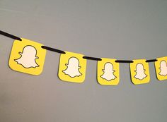 Snap chat Party Banner by IGotMadProps on Etsy