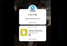 Snapchat Adds New Follow Recommendations into Shazam Integration http://rite.ly/jKeq